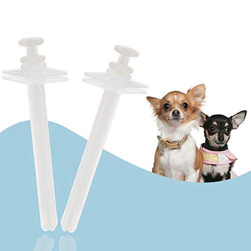 hbz11hl Interactive Pet Toys丨Pet Animals Medicine Feeder Pills Syringes Feeding Tool Dog Cat Puppy Supplies丨The Best Entertainment Exercise Gift for Your pet丨100% Pet Safety White