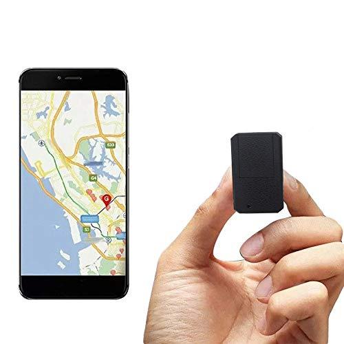 TKMARS Mini GPS Tracker TK901 Traceur GPS Mini localisateur Mini traqueur en Temps réel Locator avec Application pour iOS et Android Anti-Perdu pour Portefeuille Documents Sacs à Main Enfants
