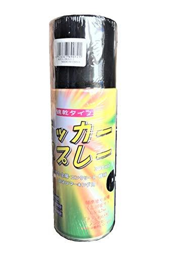 ラッカースプレー 黒 【48本入】 300ml マーキングスプレー 速乾タイプ