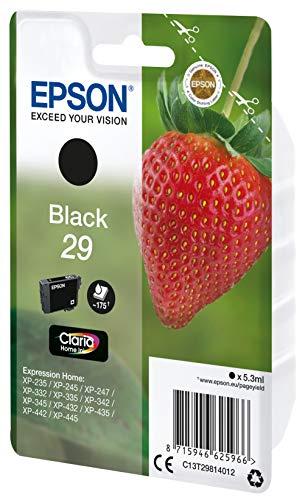 Epson Claria Home 29 - Cartucho de tinta negro estándar 5.3 ml, color negro, Ya disponible en Dash Replenishment