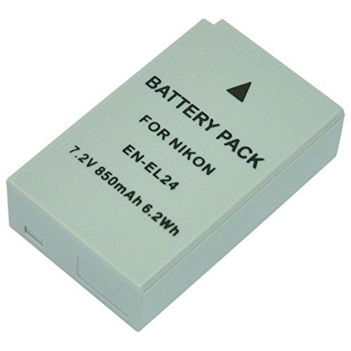 MP power @ EN-EL24 ENEL-24 ENEL24 7.2V 850mAh Batería para