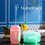 Softy BK10 Cool Mist Humidifiers Diffuser Aroma Air Humidifier with LED Night Light Colourful Change...