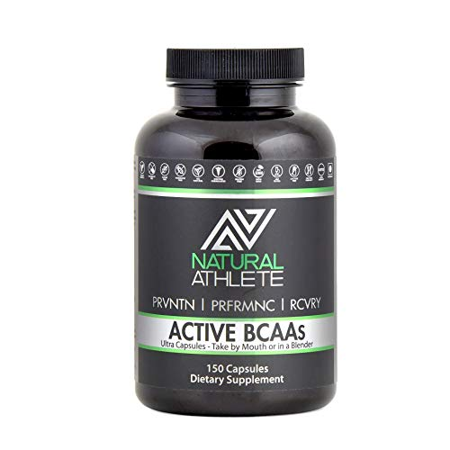 Natural BCAA + Glutamine Supplement for Men & Women | Branched Chain Amino Acids - Optimal 2:1:1 Ratio | Workout Recovery, Energy & Muscle Growth (150 Pills)