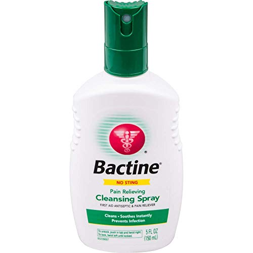 Bactine Original First Aid Spray, 5-Ounce Bottles (Pack of 4)