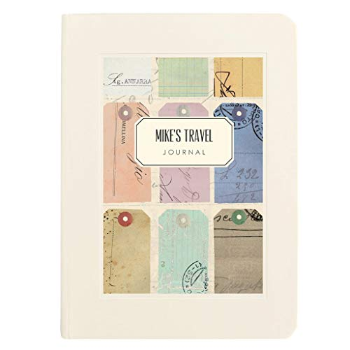 Personalised Travel Notebook
