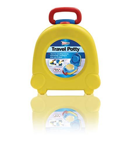 Streetwize SWPOT1 - Vasino da viaggio, 23 x 25,5 x 12,5 cm, per bambini [sotto i 3 anni] – Riutilizzabile e facilmente lavabile