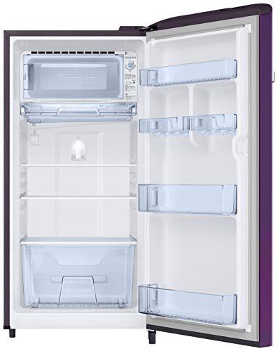 Samsung 198 L 5 Star Inverter Direct-Cool Single Door Refrigerator (RR21T2G2WCR/HL, Camellia Purple) 4