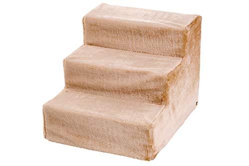 Karlie 60030 Easy Step Hundetreppe L: 60 cm B: 45 cm H: 40 cm beige