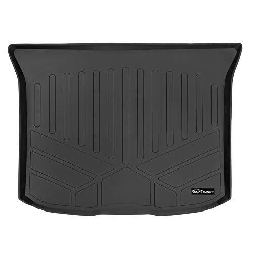 SMARTLINER All Weather Custom Fit Cargo Trunk Liner Floor Mat Black for...