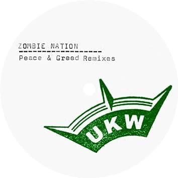 Peace & Greed Remixes - Single
