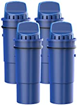 FilterLogic CRF-950Z NSF Certified Pitcher Water Filter, Replacement for Pur Pitchers and Dispensers PPT700W, CR-1100C, DS-1800Z and PPF951K, PPF900Z Water filter (Pack of 4)