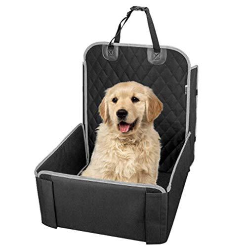 Dongbin Abdeckung für Auto-Sitzrücksitz Schutz Hunde Haustier Wasserdicht Kratzerentfernung mit dem Haare von Haushunden Sitz,Schwarz
