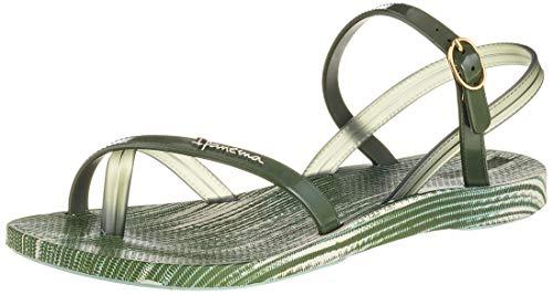 Ipanema Fashion Sand Vi Fem, Sandalias de Talón Abierto Mujer, (Green/Green 8550), 41/42 EU