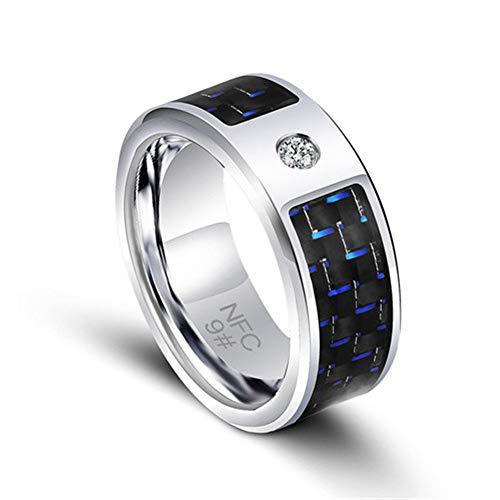 JXFS NFC Smart Ring anelli intelligenti, multifunzione Magic indossabile universale dito anello digitale per Android Windows Mobile Phone-9 #