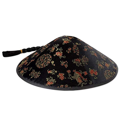 Beistle 60788 Asian Sun Hat with Braid Party Accessory