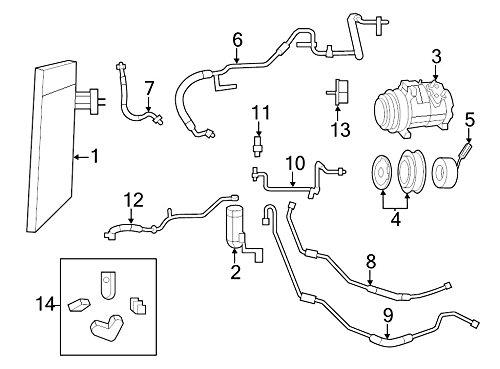 Mopar 5511 1104AD, A/C Compressor