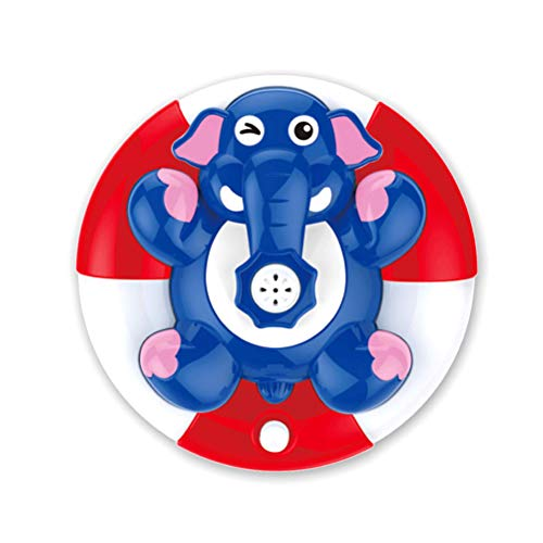 TOPCOMWW Funny Water Spray Baby Bath Floating Rotating Elephant Bath Toy Electronic Spray Water Toy Rotatable Kids Play Water Toy