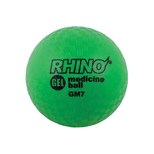 Champion Sports Gel Filled Medicine Ball (Green 7 lbs)