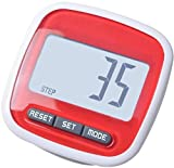 Baisix Walking Pedometer with Clip Multifunction Pocket Pedometer Suitable for men women kids