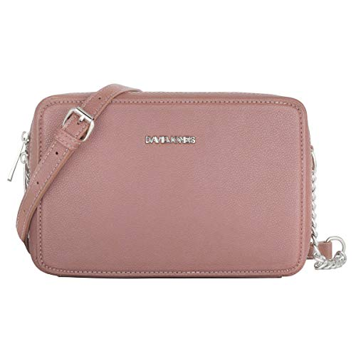David Jones - Borsa a Tracolla Quadrata Piccola Donna - Borsa a Spalla...