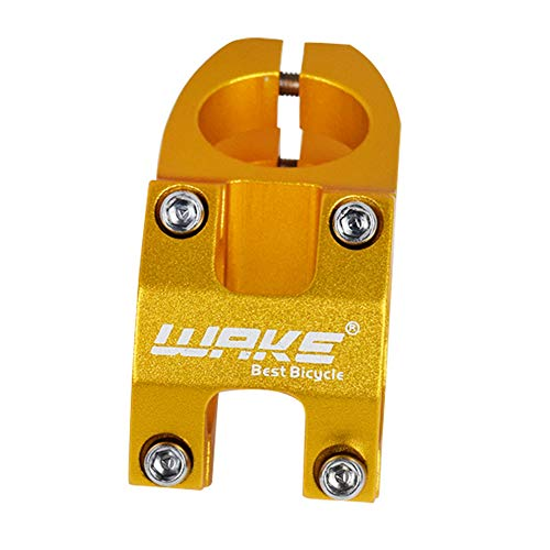 Wake 31.8 Mountain Bike Stem Aluminum Alloy Short Bicycle Stem Lightweight for MTB Downhill