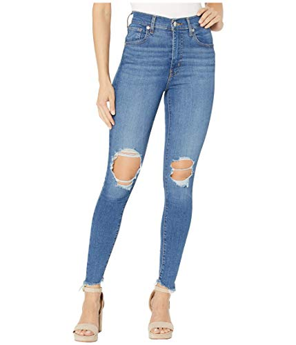 Levi's Damen Mile High Super Skinny Jeans, Quebec Storm, 54