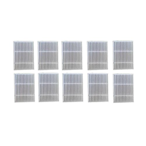 Zhuhaixmy 10PCS Hepa Filter für Proscenic Intelligente Kehrmaschine Staubsauger P1 P1S P2 P2S P3 MC65 MC70 Bluesky,Ersatz Reiniger Filter Netto Kit