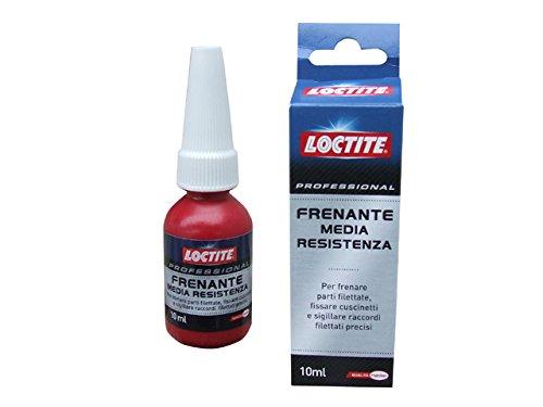 Loctite 11450 Frenante Media Resistenza Adesivo Sigillante Anaerobico, Trasparente