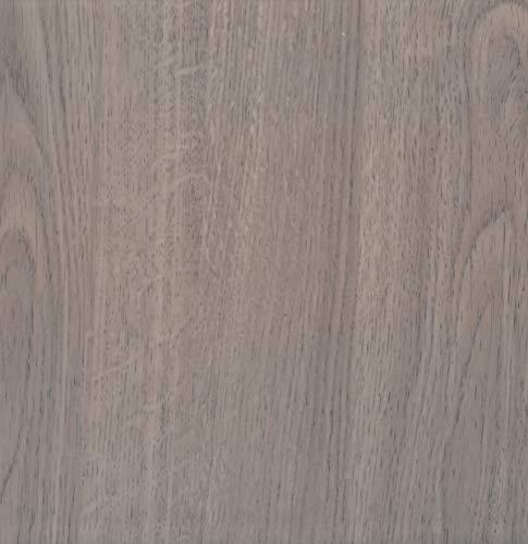 Lámina adhesiva Madera de pino taupe, lámina decorativa, lámina para muebles, lámina autoadhesiva, aspecto madera natural, 45 cm x 3 m, grosor: 0,095 mm, Venilia 53156