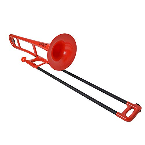 pBone PBONE1R - Trombón (plástico), color rojo