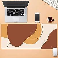 北欧 マウスパッド用 コンピューター Pc,ゴムベース 大型マウスパッド,ステッチされたエッジ ラップトップマット,じゃない-スリップ マウスパッドゲーミング オフィス ホーム