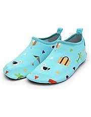 AIUIN Waterschoenen voor kinderen, strandschoenen, zwemschoenen, aquaschoenen, surfschoenen, blote voetschoenen, voor jongens en meisjes, kleine kinderen, strandzwembad