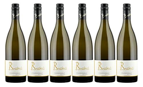 Russbach Eppelsheimer Chardonnay trocken, Weingut Russbach, Eppelsheim, Rheinhessen, Jahrgang 2020 (6 x 0,75 l)