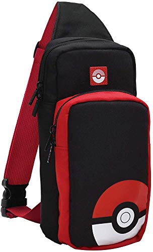 Hori Borsa A Tracolla per Switch Trainer Pack (Pokéball) - Ufficiale Nintendo e Pokémon - Nintendo Switch