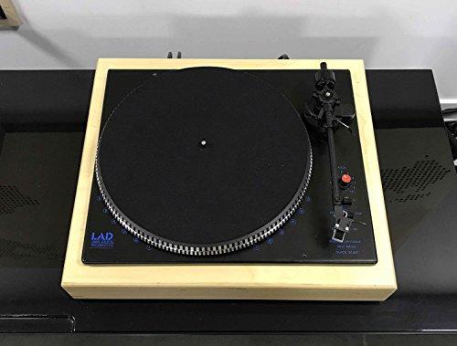 LAD Tocadiscos Vintage mel90 con Cabezal Audio-Technica at-