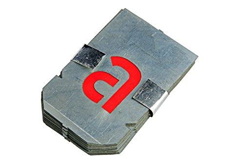 Bonum 936851 Signierschablonen, Buchstaben-Set klein, a-z