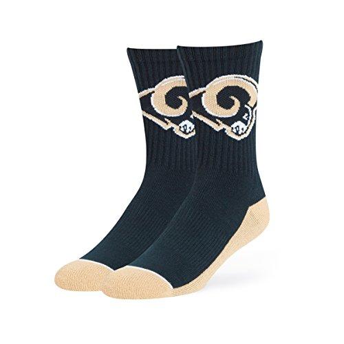 OTS NFL Hymne Sport Socke, groß, Unisex - Erwachsene, NFL Anthem Sport Sock, Large, Navy, Large