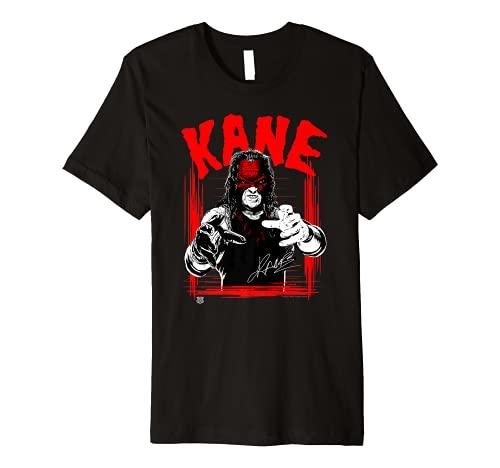 WWE KANE Horror Font Premium T-Shirt