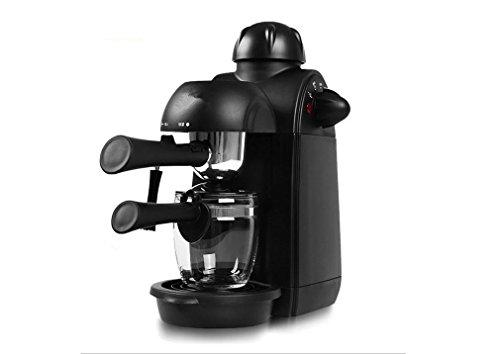 PLYY Macchina da caffè Italiana Espresso Macchina da caffè Semi-Automatica Pressione di Pompa di Vapore 4 Tazza di caffè