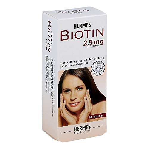 BIOTIN HERMES 2,5 mg Tabletten 90 St