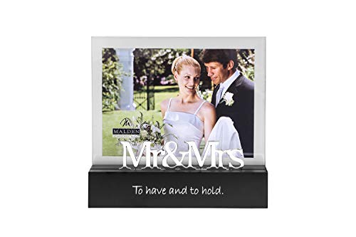 Mr. and Mrs. Wedding Anniversary Photo Frame