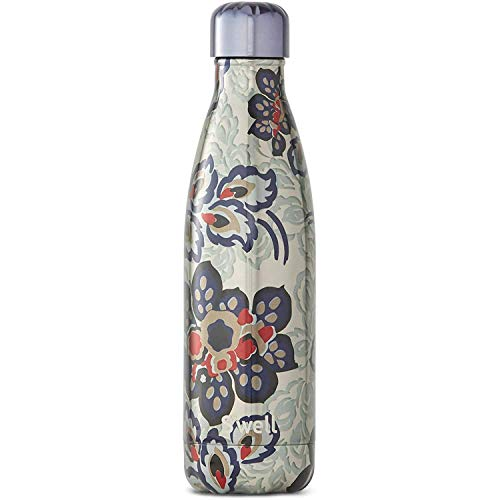 S'well Vacuum Insulated Stainless Steel Water Bottle, 500mL, Greenwich Lane