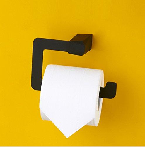 BOBE Shop- Porte-Serviette en Papier sans Bord rhombique Porte-Rouleau étagère de Salle de Bain Nordique