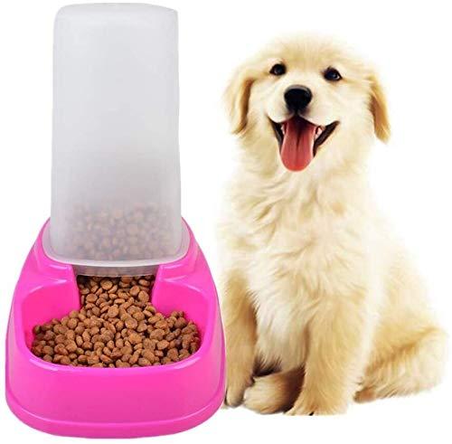 Los cachorros de mascotas alimentador de comida for gatos dispensadores de alimentos for mascotas de contenedores de gran capacidad de la capacidad perro alimentador 1.5L Cat Food Storage alimentador