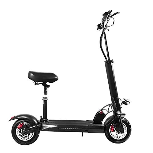 BANGNA Wheel Scooter, Patinete eléctrico, Potencia máxima de 1000 W, Batería Intercambiable,...