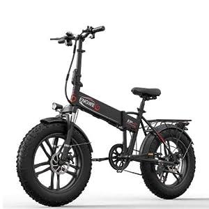 ENGWE EP-2 Beach Fat Tire Elektrofahrrad - Faltbares, Fettes 20-Zoll-eBike-Offroad-Laufrad mit Servounterstützung, 48-V-500-W-Motor und 7-Gang-Gangschaltung