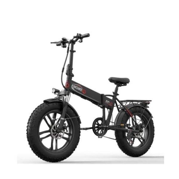 41mgON9FtfL. SS600  - ENGWE EP-2 Beach Fat Tire Elektrofahrrad - Faltbares, Fettes 20-Zoll-eBike-Offroad-Laufrad mit Servounterstützung, 48-V-500-W-Motor und 7-Gang-Gangschaltung