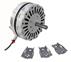 3.4 amps @ 115 volts 60Hz 5 inch diameter motor - shaft: 1/2 inch diameter x 175 inch with flat on shaft Motor length 2 1/4 inch without shaft