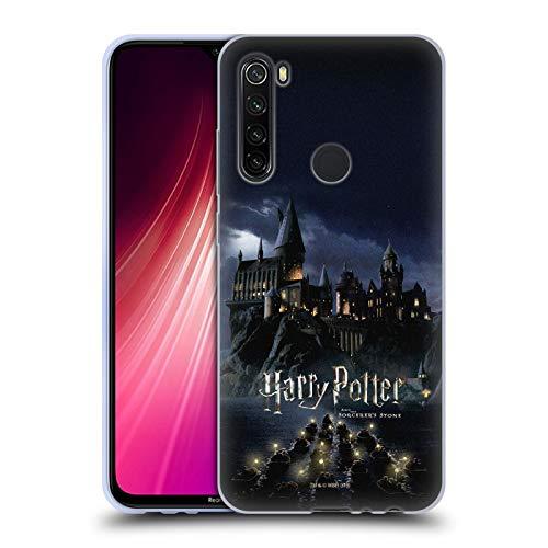 Head Case Designs Ufficiale Harry Potter Castello Sorcerer's Stone II Cover in Morbido Gel Compatibile con Xiaomi Redmi Note 8T