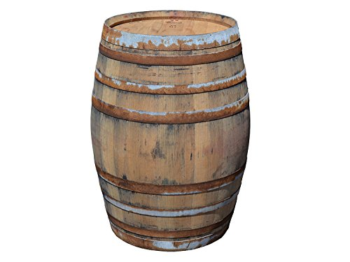 Temesso Barril Mesa en Madera de Roble con 225 litros, rústico (sin fijación de Anillos)